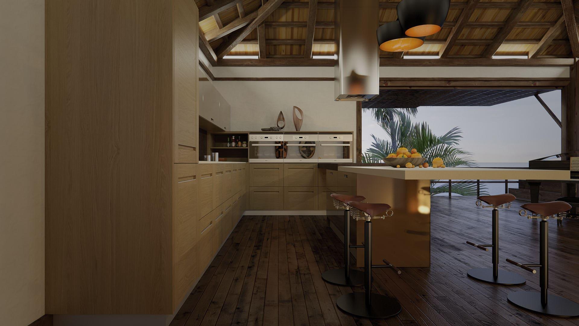 Senssia. Convertimos tu hogar en un espacio único. Muebles de cocina.