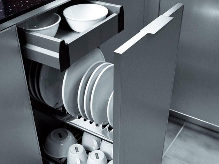 Furniture plate rack