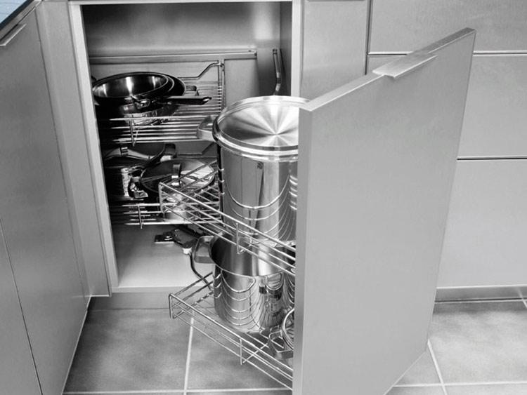 Diseños exclusivos para tener una cocina ordenada con Senssia