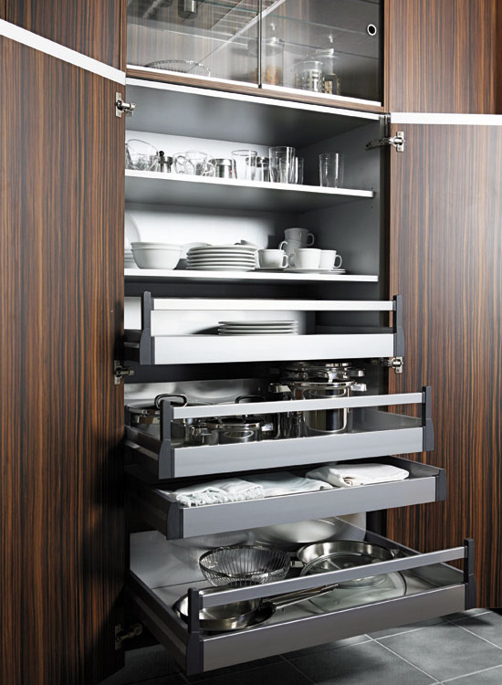 Dise os exclusivos para tener una cocina ordenada con senssia - Interiores de cajones de cocina ...