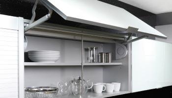muebles ordenación de cocina, orden en la cocina, armarios ordenadores de muebles de cocina