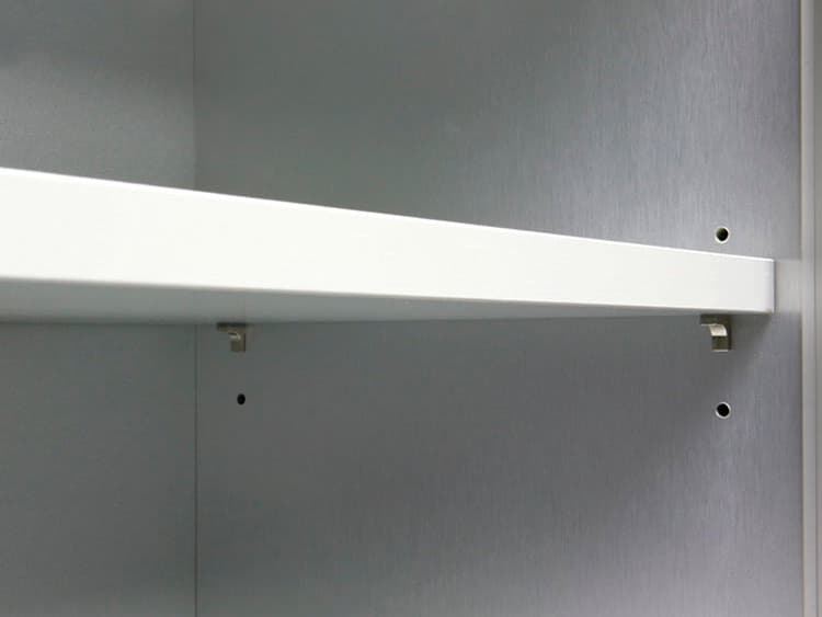 Melamine sherlves and shelf supports