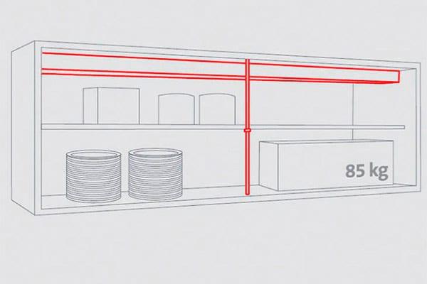 muebles altos de cocina, muebles de cocina
