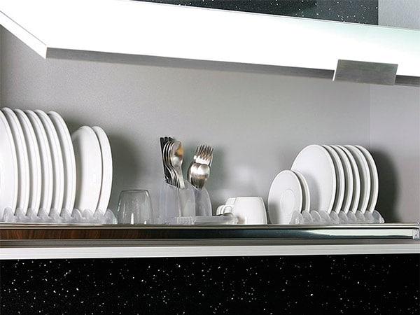 escurreplatos de cocina, muebles de cocina