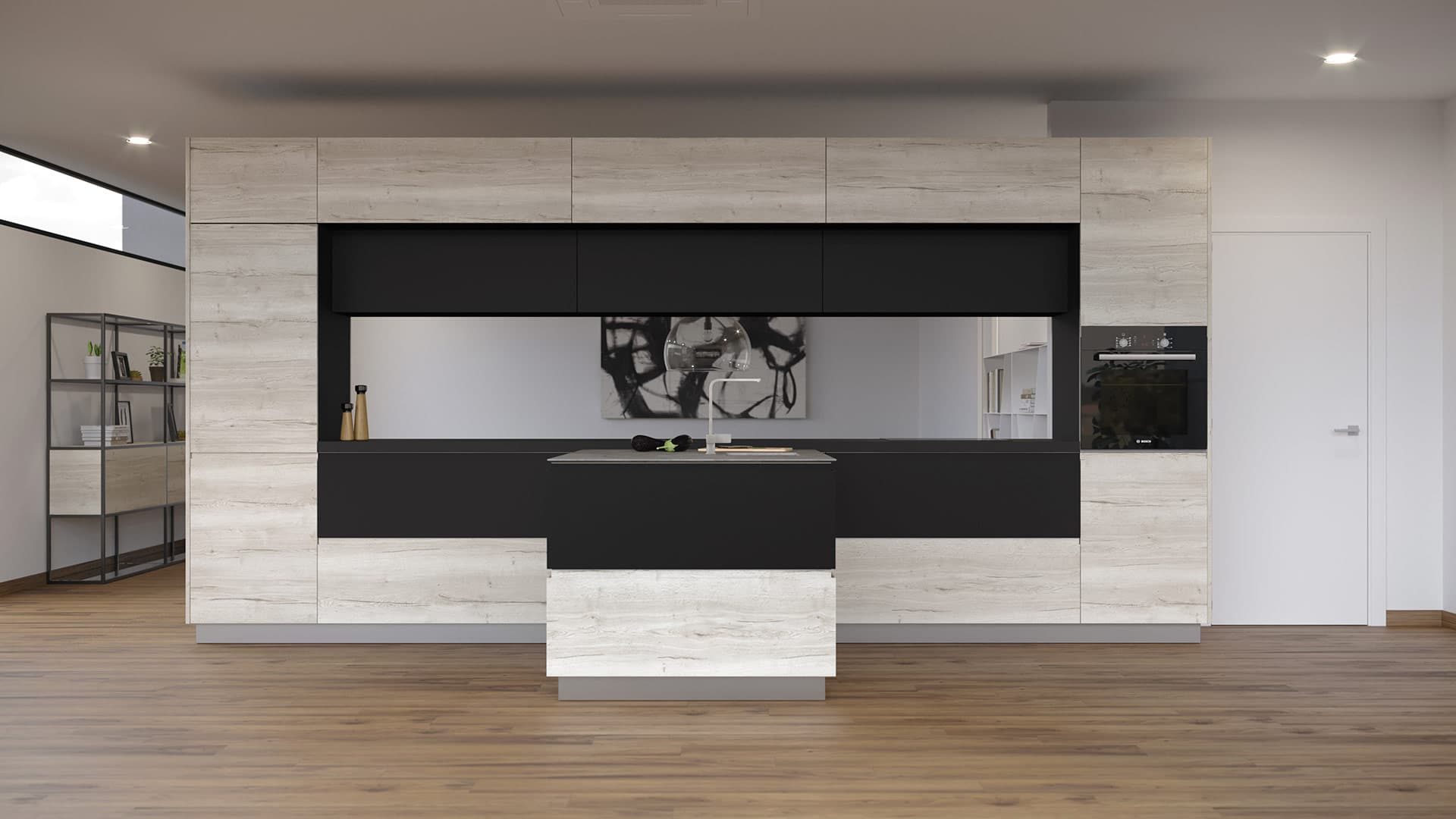 Viveza. Cocinas elegantes, muebles de diseño para la cocina