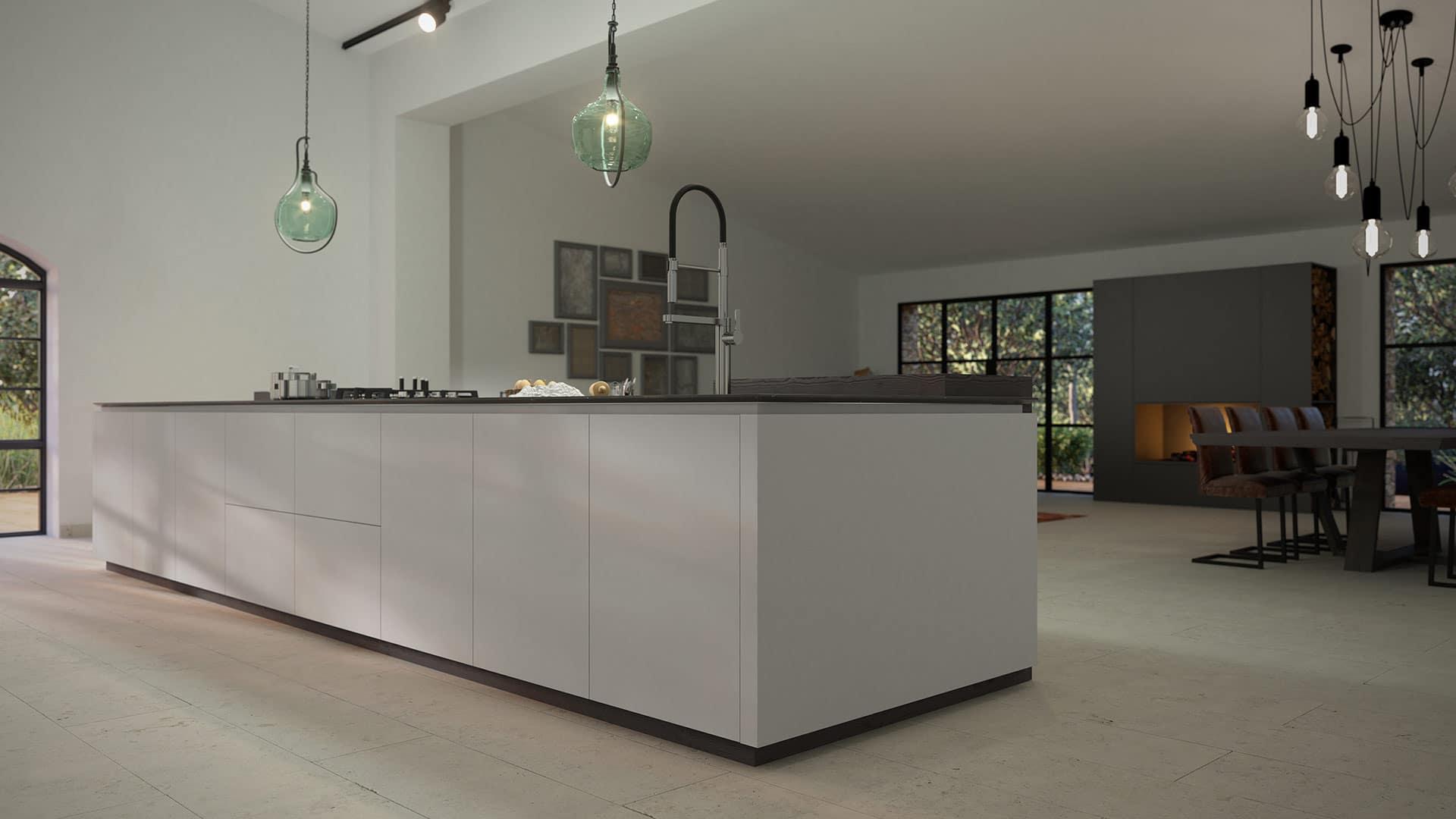 cocina de diseño senssia, muebles de cocina