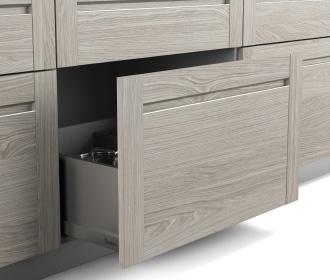 Modelo de puerta de cocina Senssia: Mauvé